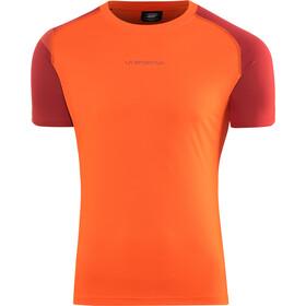 La Sportiva Motion Maglietta da corsa Uomo, pumpkin/chili
